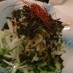 かざまん家 - 岩海苔のチョレギサラダ