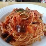 赤マンマ - なすのスパゲティ