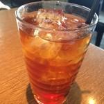 cafe GARDEN - セットのアイスティー