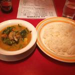 ミルミレ - 日替りカレーチキンと野菜