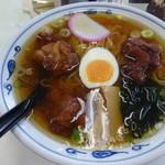 駅前食堂 - 料理写真:からあげラーメン¥680