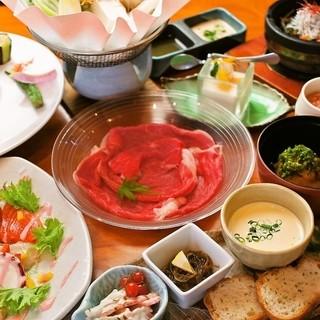 野菜ソムリエが奏でる創作和食をお楽しみください。