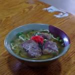 我部祖河食堂 - 料理写真:ソーキソバ(小)