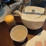 蕎麦YUKI - 蕎麦湯