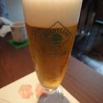 蕎麦YUKI - 生ビール
