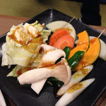 南大門 - 焼き野菜