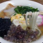 つる荘 - うどん麺はヤワモチ系