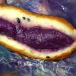 ウィリー ウィンキー - 紫芋パン断面