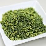 ー 料理に合わせて粉茶入り、黒酢入りの調理法を使用しております。(全ての料理に粉茶入り)