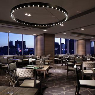デザイナーズホテル内の雰囲気の良い空間