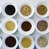 ー ご飯類は16種類の雑穀玄米飯