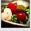 ブロッコリーとプチトマトのキューティーマリネ(モッツァレラチーズ入り)