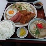 喜納島 - ランチ定食(700円)