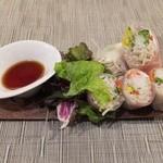 九十九草 - 蕎麦の生春巻き