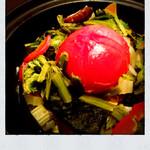 丸ごとトマトと美健野菜のサウナサラダ
