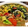 美健野菜のガーリック炒めあんかけ風