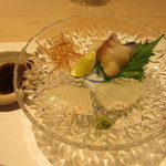 鯛良 - 真子カレイ、生とり貝