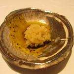 鯛良 - 肝ソースにご飯を