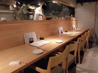 カッシーワ 茶屋町店 - カウンター