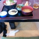 26507373 - 桜えびと生しらす丼(¥900也:税別)