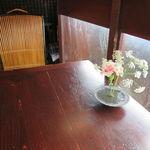 カフェ 中野屋 - 何処かアジアを感じさせる内装