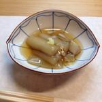 26507694 - 根芋の葛煮