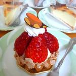 ティンカーベル - 季節のケーキ/いちごタルト 320円
