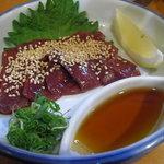 焼肉とも - 生レバー ¥680