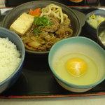 吉野家 - 牛すき鍋定食