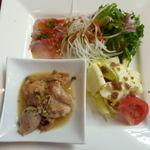 ミオ・バール - 食うぽんランチ(前菜)