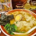 広州市場 - ワンタン麺