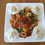 ソウル - イカポックンと素麺