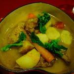 Sans-souci - 子牛のすね肉とタンが入った春野菜のポトフ