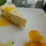 cafe naturel - 工藤夕貴プロデュース:クリームチーズケーキ¥650