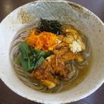 松本蕎麦店 - 鶏南蛮 (温) 830円 冬季限定