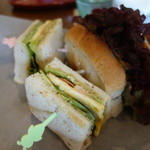 こうひぃ とうつわ 器心家 - 料理写真:サンドイッチ