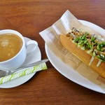 スタードックカフェ - 今日はかんべえDogとコーヒーを