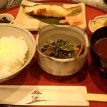 26548456 - 銀だら定食(1404円)