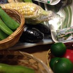 魚河岸料理 天家 - 今、旬の野菜達