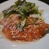 桜食堂 - 料理写真:サーモンのカルパッチョ