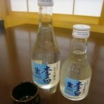 松本蕎麦店 - 冷酒 李白 特別本醸造 180ml 400円 300ml 600円