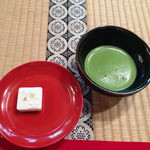 26553617 - お抹茶と和菓子