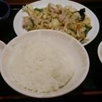 26553728 - 肉野菜炒め定食