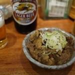 三幸 - すじ煮込みトロトロやでー♪(カレー粉でいかが?)