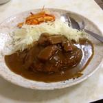 三宝食堂 - カレーハンバーグ