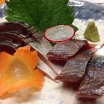 土佐わら焼き料理 みやも亭 - 鯖のお造り