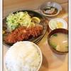 はなたつ - 料理写真:ろーすかつ定食1310円 2014.4