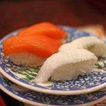市場 いちばん寿司 - サーモン&えんがわ
