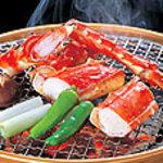 岡山甲羅本店 - ボリュームたっぷり、焼きたらば蟹
