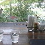 mackerel sky - テーブルから外の景色が・・・